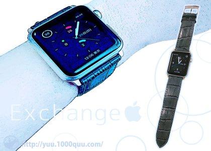 Apple Watchのバンドを換えた記事のアイキャッチ