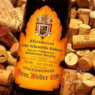 Bodenheimer Burgweg Scheurebe Kabinett