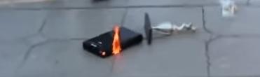 Wii U を燃やされる少年の動画