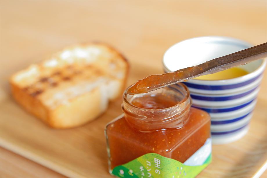 ゲストハウス有鄰庵の朝食『はれパン網焼きセット』