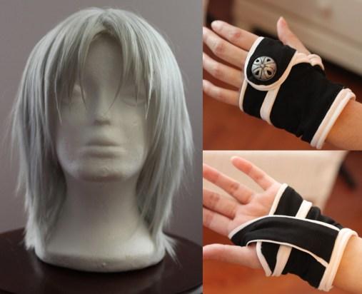 Allen wig and glove