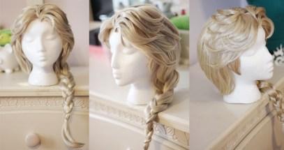 Queen Elsa wig