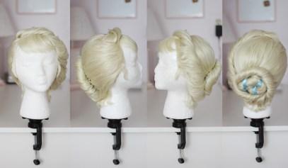 Queen Elsa coronation wig