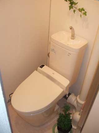 トイレ交換内装パック工事施工例MR