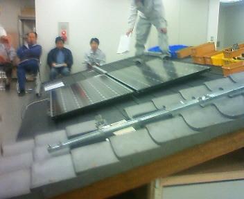 太陽光研修2日目は実技講習