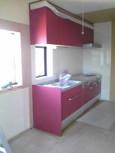 クリナップクリンレディ255二世帯住宅のためのセカンドキッチン