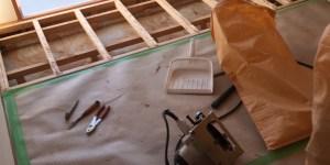マンション和室の縁甲板張り替えます