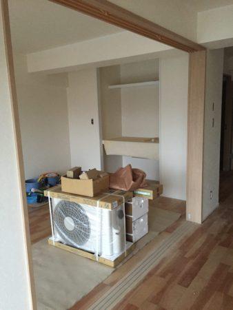 旧和室収納