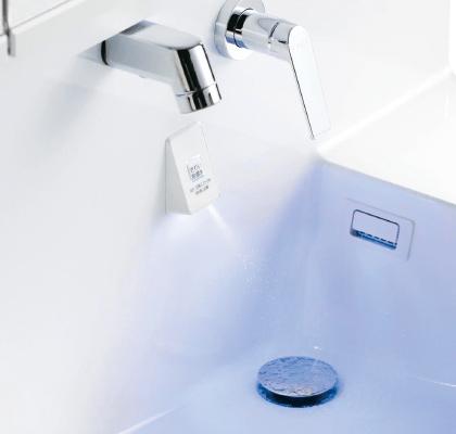 洗面台に除菌水