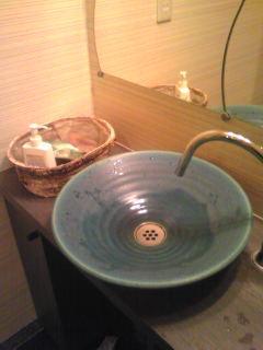 テイクファイブのトイレの手洗器自作