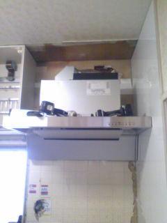 クリンレディ施工w900のフード