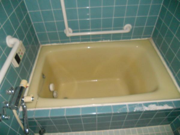 ちなみにビフォアー風呂