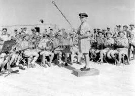 """תזמורת חיל האוויר 1948. צילום מארכיון צה""""ל"""