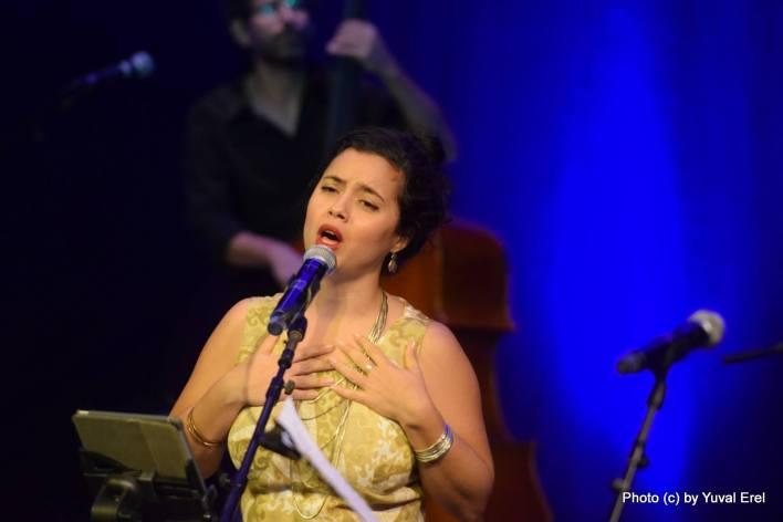 נטע אלקיים, זמרת נשמה. צילום: יובל אראל