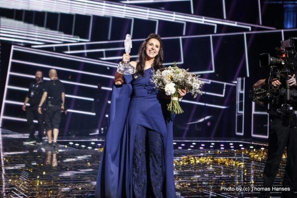 ג'למה מאוקראינה זוכת האירוויזיון 2016. צילום: תומס הנסס