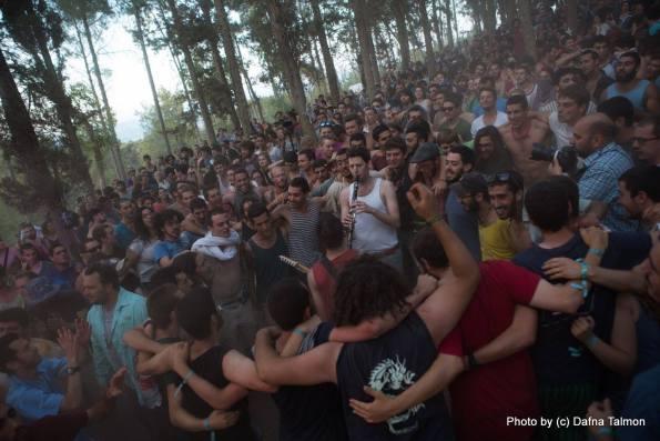 רמזיילך והקהל. צילום: דפנה טלמון