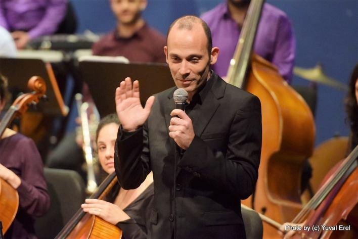 אריאל צוקרמן, המנצח. צילום: יובל אראל