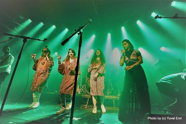 ליאורה יצחק והאחיות חיים, A-wa. צילום: יובל אראל
