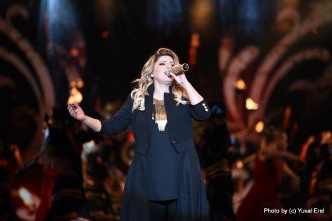 שרית חדד, המופע, האנגר 11. צילום: יובל אראל