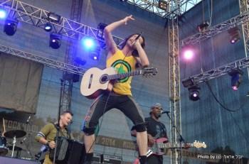פסטיבל רוקנרולר בבלומפילד. צילום יובל אראל