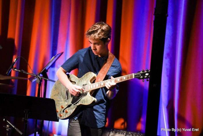 ליאם צור, מעבד מוזיקלי צעיר. צילום יובל אראל