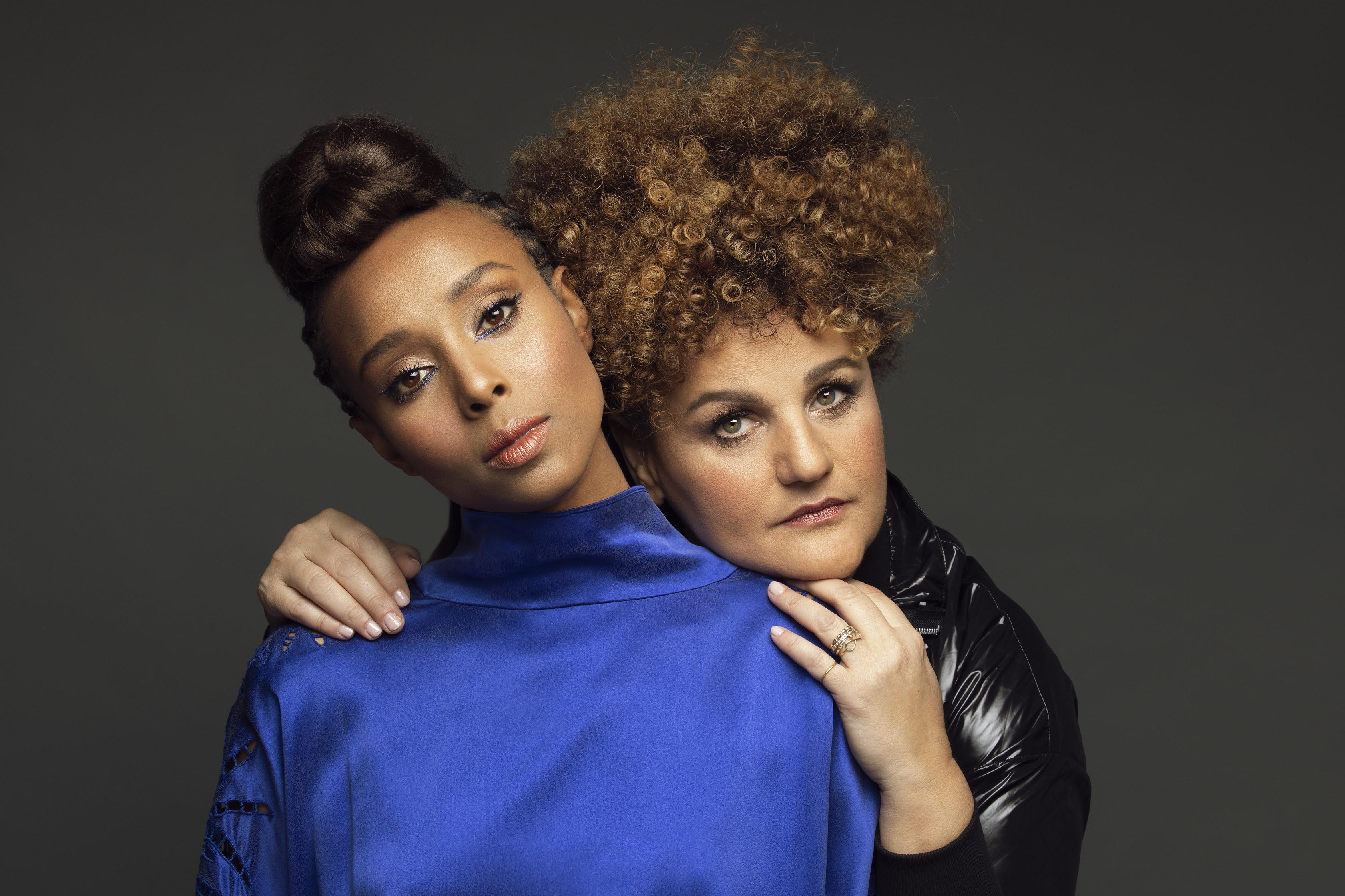 אסתר וקרולינה. צילום דניאל קמינסקי