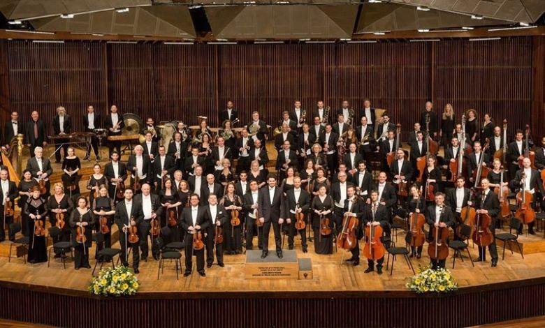 התזמורת הפילהרמונית הישראלית 2020. צילום עעודד אנטמן