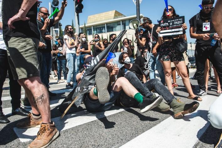 הפגנת הזעם. צילום יונתן בוגר