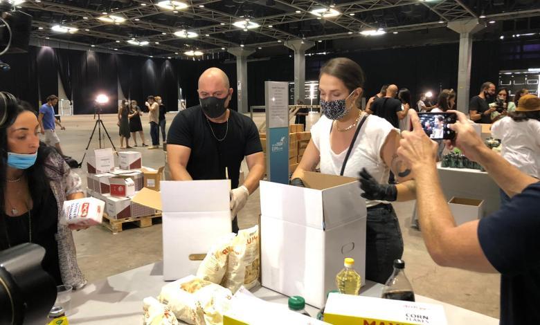 מארינה מקסימיליאן -אמנים מתנדבים בפרויקט חבילות הסיוע לעובדי תעשיית התרבות