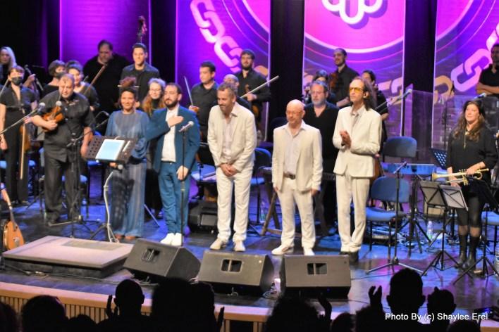 תזמורת ירושלים מזרח מערב ולהקת טיפקס. צילום שילי אראל