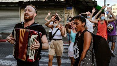 סיסטם עאלי שרים את יפו. צילום אורי רובינשטיין