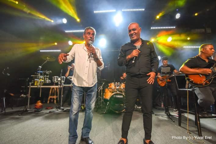 ליאור פרחי ויואב יצחק במועדון גריי, צילום יובל אראל