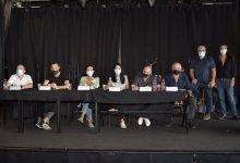 נציגי הועד בכנס. צילום גלית סבג