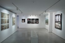 Yuval Yairi I Surveyor I Installation view I (from left to right) Bullets Archive I Clamp I 6 Codes I Surveyor