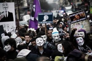 ACTA protest France