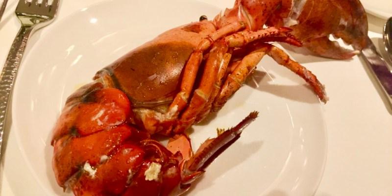 #049 [魚導遊記] 世界夢郵輪去-比臉大龍蝦大餐