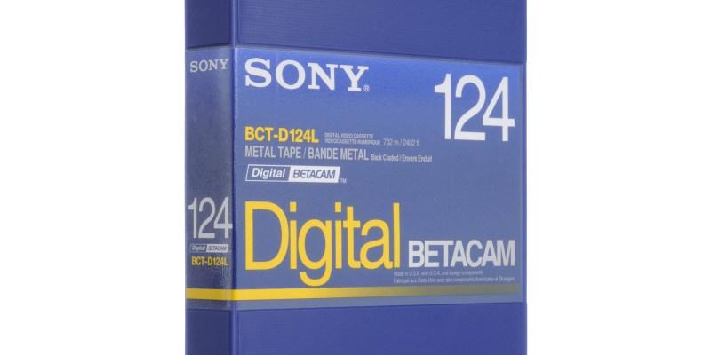 #195 [悶鍋日記] 這塊帶子叫做Digital BETACAM!!!