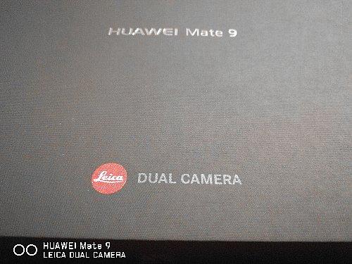 HUAWEI Mate 9の箱