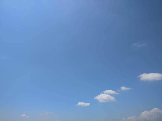 OnePlus 3Tで撮った空の色