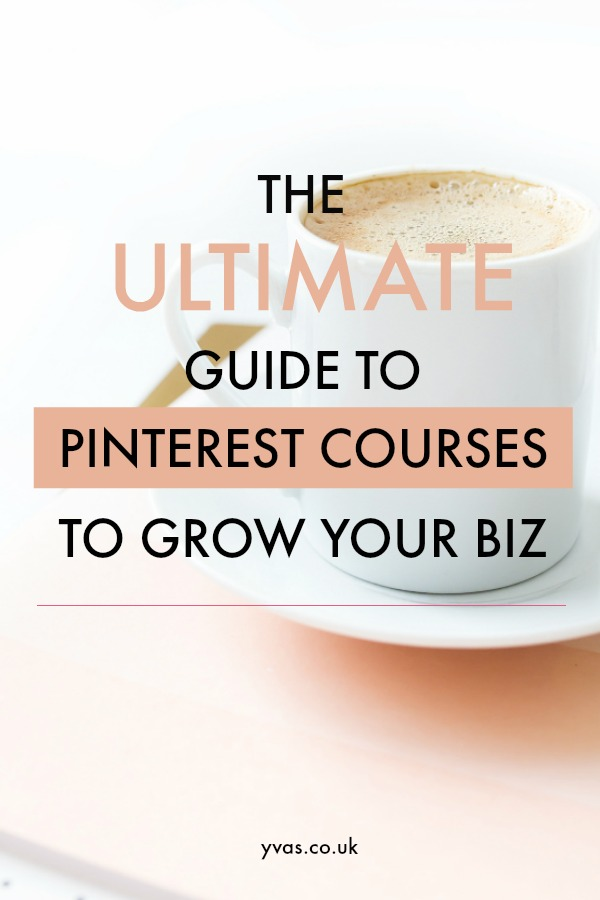 Take a Pinterest course to really increase traffic and harness the power of Pinterest, but which one is best? Find YOUR perfect Pinterest traffic guide in this list of Pinterest courses for new blogs, Etsy sellers and seasoned bloggers
