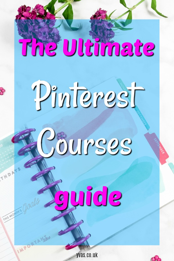 The Ultimate Guide to Growing your business with Pinterest - take a Pinterest course to really increase traffic - perfect pinterest traffic guides for new blogs and seasoned bloggers