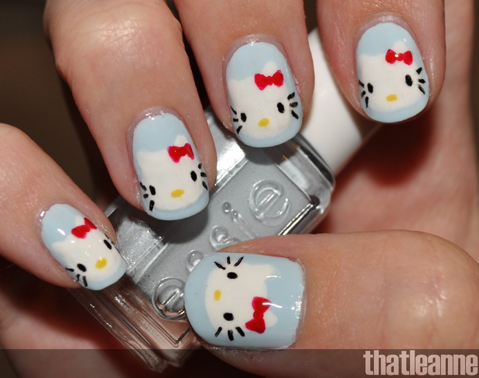 Pictures Of O Kitty Nail Designs 15 Pretty
