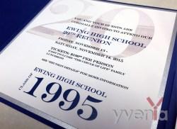 Close-up of Invitation