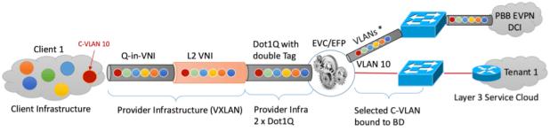 Figure19: Extending-the-c-vlan-to-l2-vpn-and-l3-vpn-via-the-bridge-domain