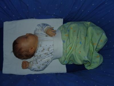 Yves liebt es, zu schlafen