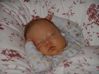 Am besten schläft Yves im grossen Bett