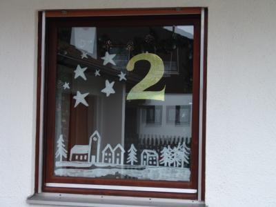 Unser Kalenderfenster in diesem Jahr