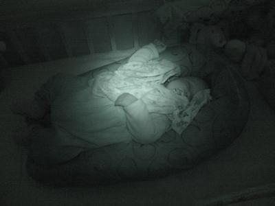 Da ist jemand so richtig eingeschlafen