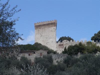 Die Burg von Castiglione del Lago