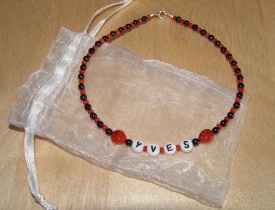 Eine tolle Halskette von Tante Gitti
